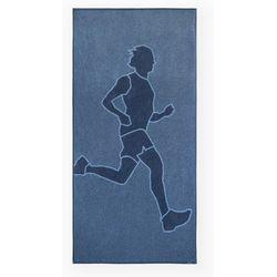 Ręcznik ACTIVE SPORT 70x140 ZWOLTEX BIEG 2 niebieski, 1259