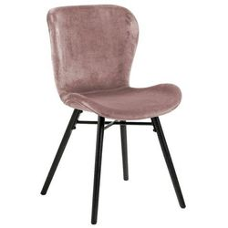 Krzesło batilda vic dusty rose - różowy marki Actona