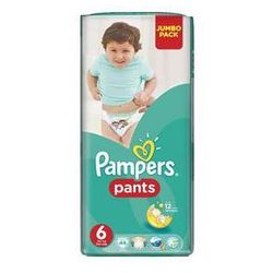 Pieluchomajtki Pampers Jumbo Pack vel. 6, 44ks - sprawdź w wybranym sklepie