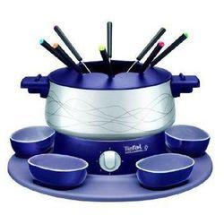 Zestaw do fondue TEFAL EF351412 / 800W / regulowany termostat / 2 miseczki / 8 widelczyków (3168430719545)