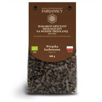 Rodzinna wytwórnia makaronów - fabijańscy Fabijańscy eko makaron gryczany na wodzie źródlanej wstążka