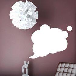 Wally - piękno dekoracji Tablica suchościeralna chmurka 121