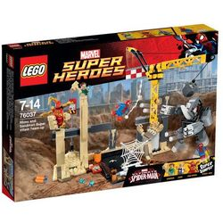 Super Heroes Wspólny atak superłotrów Rhino i Sandmana 76037 marki Lego z kategorii: klocki dla dzieci