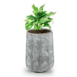 Blumfeldt decaflor doniczka na rośliny 55x70x55cm włókno szklane do wewnątrz/na zewnątrz jasnoszary
