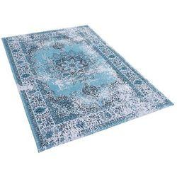 Beliani Dywan niebieski 140 x 200 cm krótkowłosy almus (4260602370505)