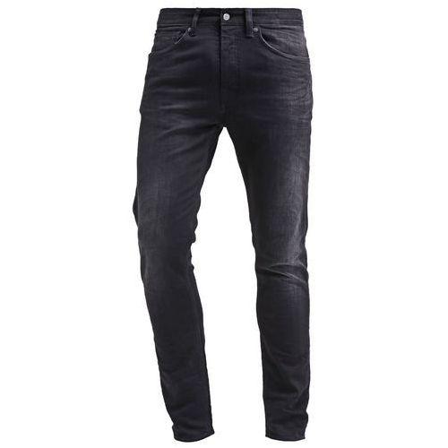 K.O.I KINGS OF INDIGO JOHN Jeansy Slim fit black worn in (spodnie męskie)