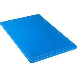 Stalgast Deska do krojenia 600x400x18 mm niebieska 341634