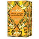 Herbata lemon, ginger&manuka honey - , 20 saszetek marki Pukka