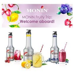 Puree Monin Wiśniowe 1L (napój)