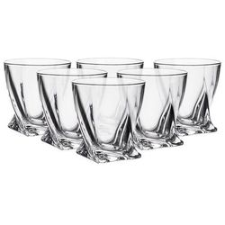 Bohemia quadro szklanki 340 ml 6 sztuk