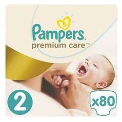 Pampers Pieluszki  premium care mini rozmiar 2, 80 szt., kategoria: pieluchy jednorazowe
