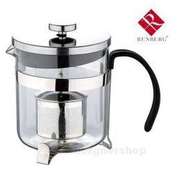 ZAPARZACZ 600ml DO HERBATY ZIÓŁ RENBERG RB-3110 - produkt z kategorii- Zaparzacze i kawiarki