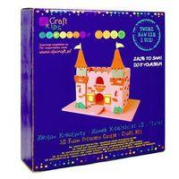 Dalprint Zestaw kreatywny 3d z pianki  kspi-098 - zamek księżniczki