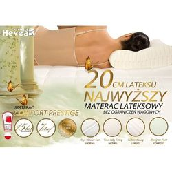 Hevea Materac lateksowy prestige + poduszka 45/45 gratis!