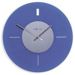 Zegar ścienny 2232 błękitny marki Nextime