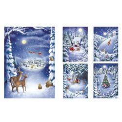 Belarto, Pakiet charytatywnych kartek świątecznych Unicef, 10 szt.