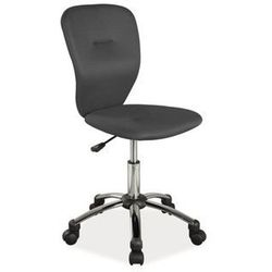 Krzesło dziecięce q-037 czarny marki Signal
