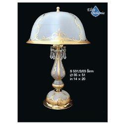 Lampa stołowa (biurkowa) z kryształkami, S 531/3/03 Sirm