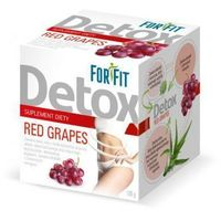 Mokate Napój w proszku for fit detox red grapes 100g (10x10g)