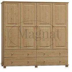 Magnat - producent mebli drewnianych i materacy Szafa sosnowa 4d nr6 s160