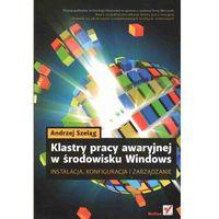 Klastry pracy awaryjnej w środowisku Windows. Instalacja, konfiguracja i zarządzanie (224 str.)