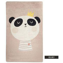 dywan do pokoju dziecięcego dinkley panda 140x190 cm marki Selsey