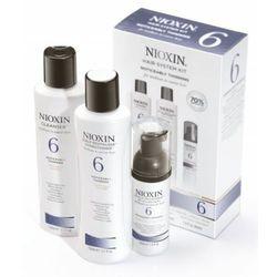 System 6 - Zestaw do włosów znacznie przerzedzonych, zniszczonych, grubych, produkt marki Nioxin