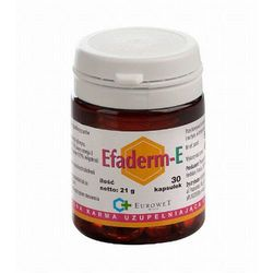 Eurowet EFADERM-E suplement diety dla zdrowej skóry i sierści psa 60 kaps., kup u jednego z partnerów
