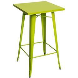 D2.design Stół barowy paris - zielony jasny (5902385705752)
