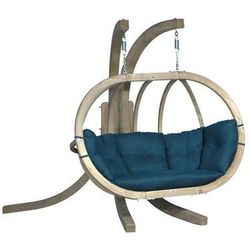 Zestaw: stojak Sintra + fotel Swing Chair Double, Zielony Sintra + Swing Chair Double
