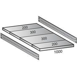 Półka do przemysłowego regału wtykowego, szer. półki 1000 mm, gł. 1000 mm. warto marki Scholz regalsyst