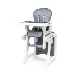 4Baby Fashion krzesełko do karmienia + stolik 2 w 1 grey model 2017
