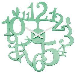 Koziol - zegar ścienny PI:P - miętowy - miętowy