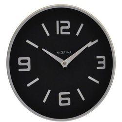 Zegar ścienny Shuwan czarny, kolor czarny