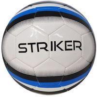 Piłka nożna  striker biało-czarny (rozmiar 5) marki Axer sport