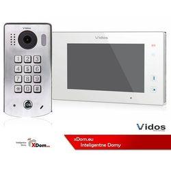 Zestaw wideodomofonu cyfrowego z szyfratorem Vidos DUO S1311D_M1021W