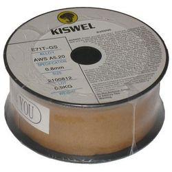 DRUT SPAWALNICZY SAMOOSŁONOWY KISWEL ŚREDNICA 0.8 mm WAGA 0.9 KG, towar z kategorii: Akcesoria spawalnicze