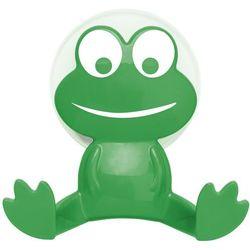 Wenko Uniwersalny haczyk frog na przyssawkę, wieszak - kolor zielony, (4008838157367)