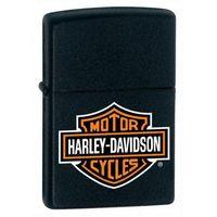 Zapalniczka ZIPPO Harley Davidson, Black Matte Logo (Z218HDH252), kup u jednego z partnerów