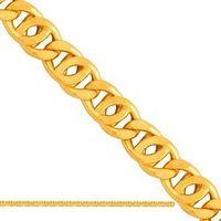 Złoty łańcuszek dmuchany tigra ld091