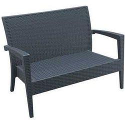 Sofa ogrodowa rattan miami szara marki Siesta exclusive