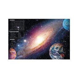 Mata na biurko z nadrukiem galaktyka