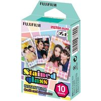 Fujifilm  instax mini stained glass ww 1 (10x1/pk) (4547410197020)