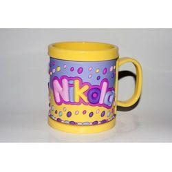 Kubek imienny dla dziecka, Nikola