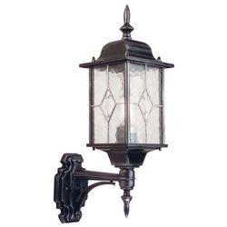 Zewnętrzna LAMPA ścienna WEXFORD WX1 Elstead KINKIET metalowy OPRAWA ogrodowa IP43 outdoor srebrna - produkt z kategorii- Lampy ogrodowe