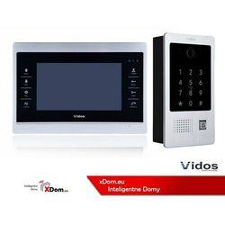 Vidos Zestaw wideodomofonu z szyfratorem i czytnikiem kart rfid s20da_m901s