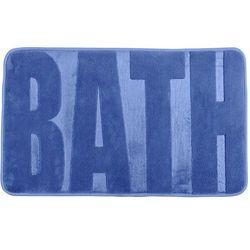 Dywanik łazienkowy BATH FJORD BLUE, 80 x 50 cm, WENKO