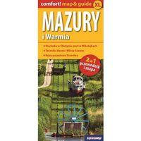 Warmia i Mazury 2w1 przewodnik i mapa, książka w oprawie miękkej