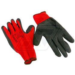 Rękawice robocze Geko czerwone 9 G73532