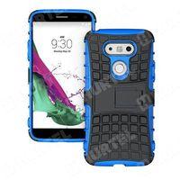 Pancerne etui Kickstand LG G5 H850 niebieskie - Niebieski z kategorii Futerały i pokrowce do telefonów